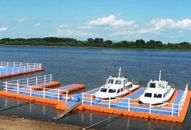 上海浮动码头